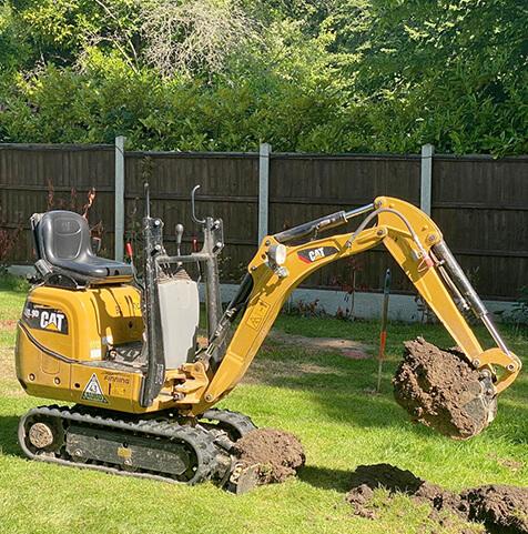 Cat Digger / Excavator 300.9D