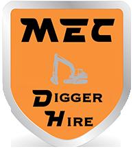 MEC digger hire